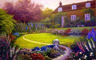 English Garden Wallpaper 37 Arrangement