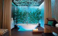 Exotic Bathroom Wallpaper 16 Picture