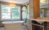Exotic Bathroom Wallpaper 28 Renovation Ideas