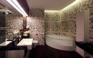 Exotic Bathroom Wallpaper 29 Picture