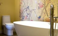 Exotic Bathroom Wallpaper 7 Design Ideas