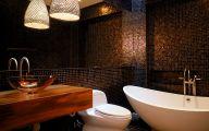 Exotic Bathroom Wallpaper 8 Inspiring Design