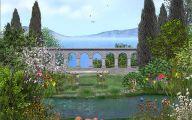 Free Garden Wallpaper For Computer 41 Inspiring Design