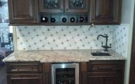 Kitchen Wallpaper Backsplash 30 Design Ideas