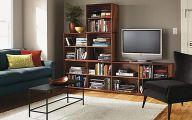 Living Room Bookshelves  1 Decoration Idea