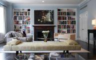 Living Room Bookshelves  11 Inspiration