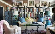 Living Room Bookshelves  13 Design Ideas