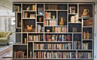 Living Room Bookshelves  16 Architecture