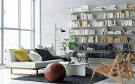 Living Room Bookshelves  18 Ideas