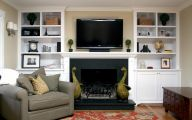 Living Room Bookshelves  28 Design Ideas