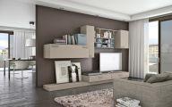 Living Room Bookshelves  29 Designs