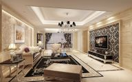 Living Room Wallpaper 50 Decor Ideas