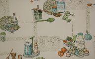 Vintage Kitchen Wallpaper 13 Decoration Idea