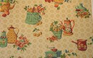 Vintage Kitchen Wallpaper 4 Arrangement