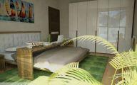 Bedroom Wallpaper Green  2 Decoration Inspiration