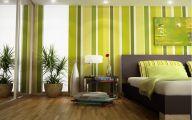 Bedroom Wallpaper Green  29 Design Ideas
