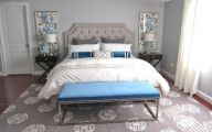 Bedroom Wallpaper Grey  21 Inspiring Design