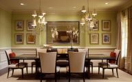 Elegant Dining Room Decor  2 Arrangement