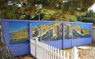 Exterior Wallpaper Murals  32 Home Ideas