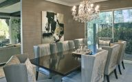 Trendy Stylish Dining Rooms  2 Designs