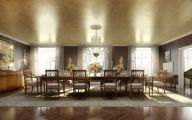Trendy Stylish Dining Rooms  24 Decoration Inspiration