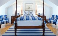 Blue Traditional Bedrooms  26 Decoration Idea