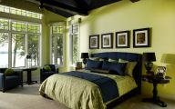 Blue Traditional Bedrooms  33 Picture
