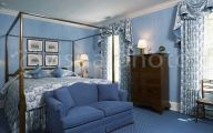 Blue Traditional Bedrooms  34 Inspiring Design
