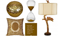 Home Accessories Gold 20 Design Ideas