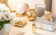 Home Accessories Gold 28 Renovation Ideas