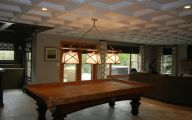 Modern Basement Ceiling  24 Arrangement