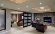 Modern Basement Remodel  21 Decoration Inspiration