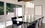 Modern Dining Room Light Fixtures  1 Decor Ideas