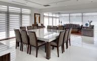 Modern Dining Rooms  40 Arrangement