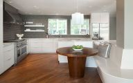 Modern Kitchen Tables  23 Renovation Ideas