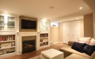 Traditional Basement  23 Decoration Inspiration