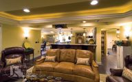 Traditional Basement  39 Decoration Inspiration