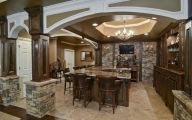 Traditional Basement  56 Decor Ideas