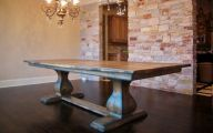 Traditional Dining Room Tables  29 Picture