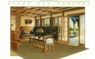 1900 Early American Style Living Room  26 Design Ideas
