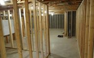 Basement Room Framing  11 Arrangement