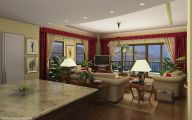 Design Living Room Kitchen  6 Home Ideas