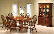 Early American Dining Room Set  8 Inspiration