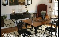 Early American Dining Room Sets  8 Arrangement