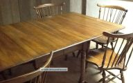 Early American Dining Room Table  15 Decoration Inspiration