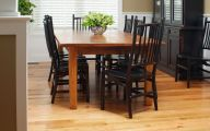 Early American Dining Room Table  17 Home Ideas