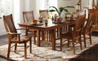 Early American Dining Room Table  22 Picture