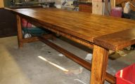 Early American Dining Room Table  8 Picture