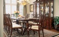 Early American Dining Room Table  9 Picture