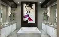 Modern Bathroom Art  18 Designs